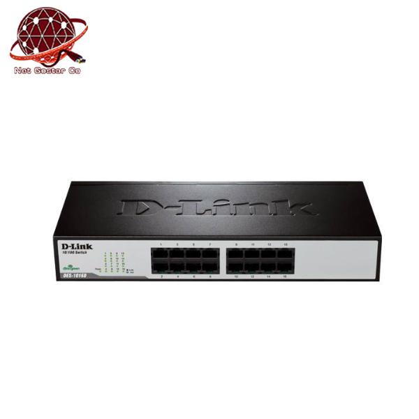سوییچ غیر مدیریتی دی لینک مدل DES-1016D/E